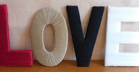 Letras de lana