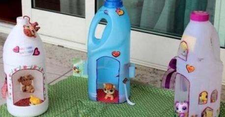 Una casita de muñecas