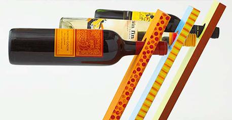 Botellero original para el vino